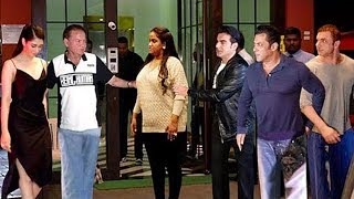 Salman Khan's Sister Arpita Upset Over Warina Hussain At Husband Ayyush Sharma's Birthday Party