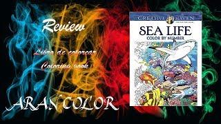 Review Libro Sea Life   Creative Haven - Dover Publications