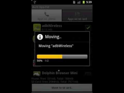 Video of Auto App2SD