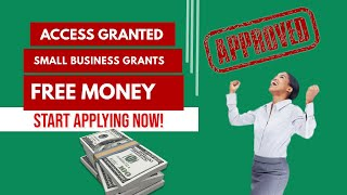 #FREE SMALL BUSINESS #GRANTS