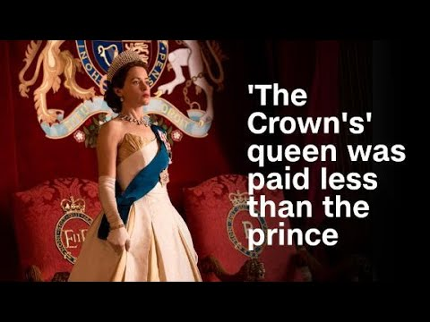 'The Crown's' queen was paid less than her...