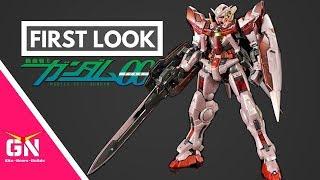 First Look: P Bandai RG 1/144 Exia Trans Am
