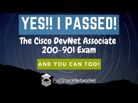 Cisco DevNet Associate 200-901 DEVASC Exam: I PASSED, and ...