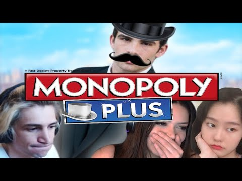 Leftist Monopoly w  xQc, 39Daph, and Adept!