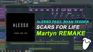 Alesso Feat. Ryan Tedder - Scars For Life [FL Studio Remake + FREE FLP]