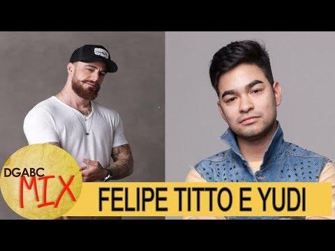Felipe Titto e Yudi Tamashiro participam do programa DGABC MIX