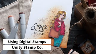 Using Digital Stamps With Unity Stamp Co.