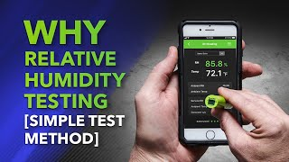 Why Relative Humidity Testing [Simple Test Method]