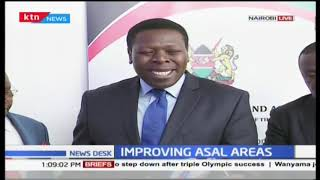 Eugene Wamalwa meets leaders from ASAL areas