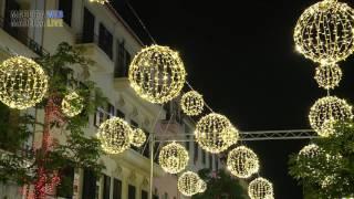 Luces navideñas de Funchal 2016