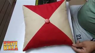 Very Easy And Beautiful Cushion Cover Design