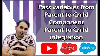 Pass variables from Parent to Child Component in Lightning Salesforce | Parent to Child integration