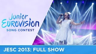 Junior Eurovision Song Contest 2013: Full Show
