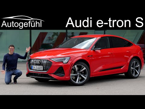 External Review Video KmREGb5gZVg for Audi e-tron and e-tron Sportback Crossover