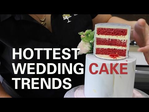 Hottest Wedding Cake Trends For 2017