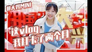 【大胃mini的Vlog】北京大兴国际机场,一个被飞机耽误的美食城