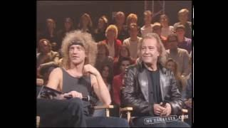 Interview Foreigner et Johnny Hallyday Taratata 23.12.1994