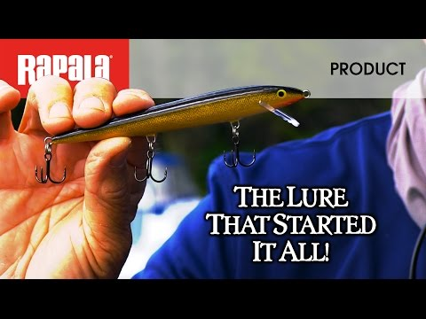 Воблер RAPALA ORIGINAL FLOATING F09-P фото №2