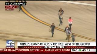 WILD VIDEO: Passengers SPRINT ACROSS TARMAC at Ft. Lauderdale Airport After Shooting