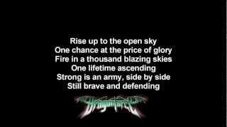 DragonForce - Holding On | Lyrics on screen | HD