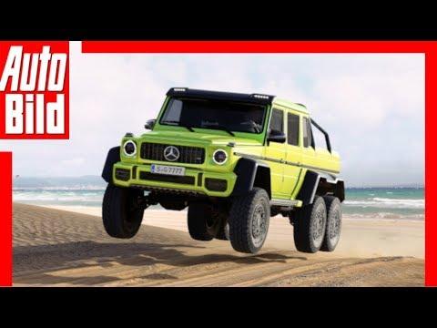AUTO BILD Wunschautos: Mercedes-Benz G 6x6