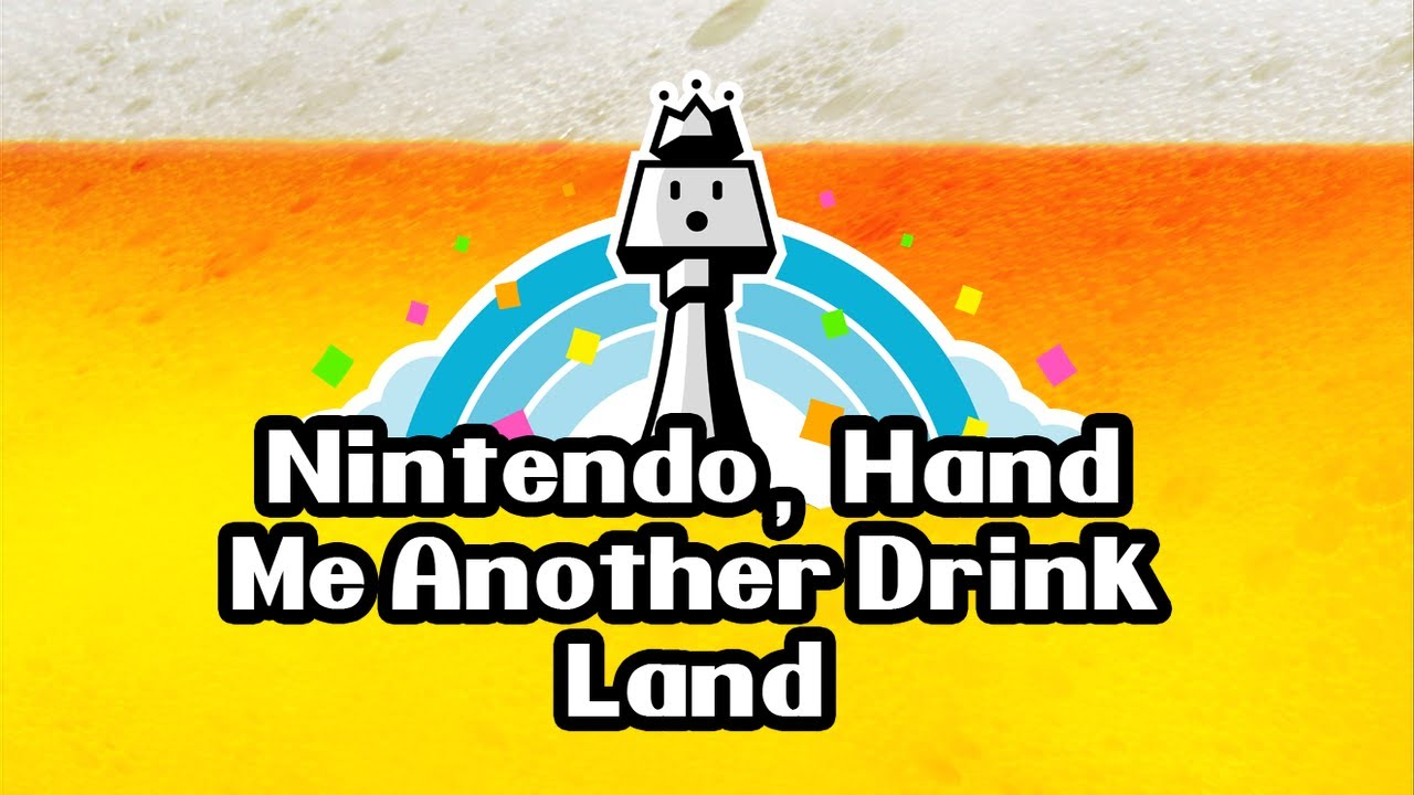 Because Nintendo Land Really Did Need A Good Drinking Game