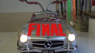 Bau den Mercedes - Benz 300 SL 1:8 Eaglemoss # Ausgabe 97 - 100 deutsch