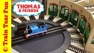 Thomas At Tidmouth Sheds Testing HO Scale Bachmann Motorized Turntable