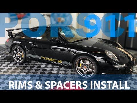 Installing My New Wheels & Spacers - Porsche 997 Transformation