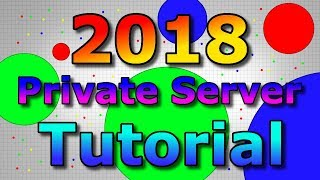 Agar.io - How To Make An Agario Private Server In 2018 (With Bots) - Mgar Custom Server (New Agario)