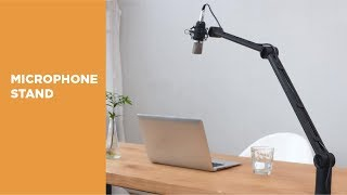 MDS06-1 Professional Microphone Boom Arm Stand Overview Video