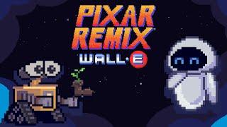 WALL•E in 16-Bit   Pixar Remix