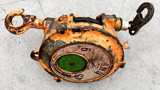 Restoration spring balance ENDO EWF-9 Christmas gifts for dad | Restore old Japanese spring balance
