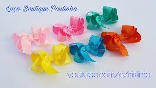 Laço De Cetim🎀 Laço Boutique Pontinha   🎀 DIY 🎀 PAP 🎀 TUTORIAL 🎀 Iris Lima