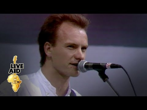 Sting - Roxanne (Live Aid 1985)