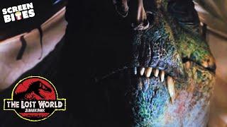 The Lost World: Jurassic Park | T-Rex a' Comin' | Julianne Moore and Jeff Goldblum