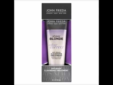 John Frieda Sheer Blonde Colour Correct Treatment 4 oz