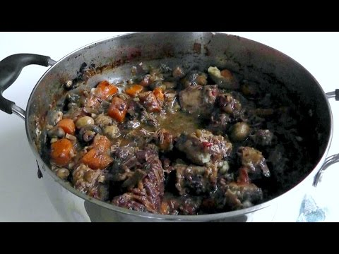 How to cook BEEF BRISKET STEW in Red wine One Pot recipe