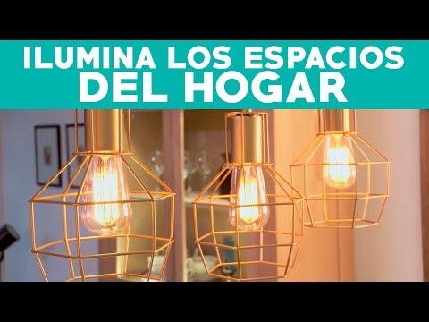¿Cómo iluminar correctamente los espacios del hogar?
