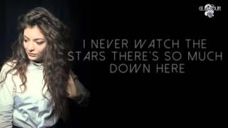 Lorde   Yellow Flicker Beat (Video Lyrics)