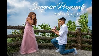 SURPRISE PROPOSAL of Denesh & Nisha by Jobest