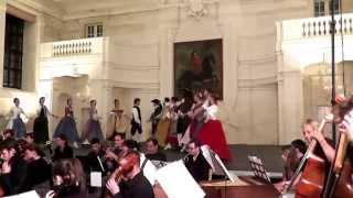 Zelenka Sub olea pacis 1 Overture - Baroque dances, MLŠSH Valtice 2015