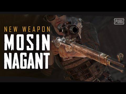 New weapon - Mosin Nagant   PUBG