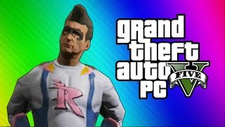 GTA 5 Heists #3 - Trevor's Birthday Party! (GTA 5 PC Online Funny Moments)