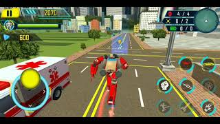 Drone Robot Car Game: Robot Transforming Game - Android Gameplay FullHD