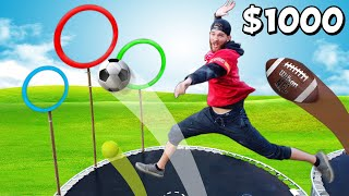Create Your Own Sport Budget Battle! *$10 vs $1000 SPORTS*