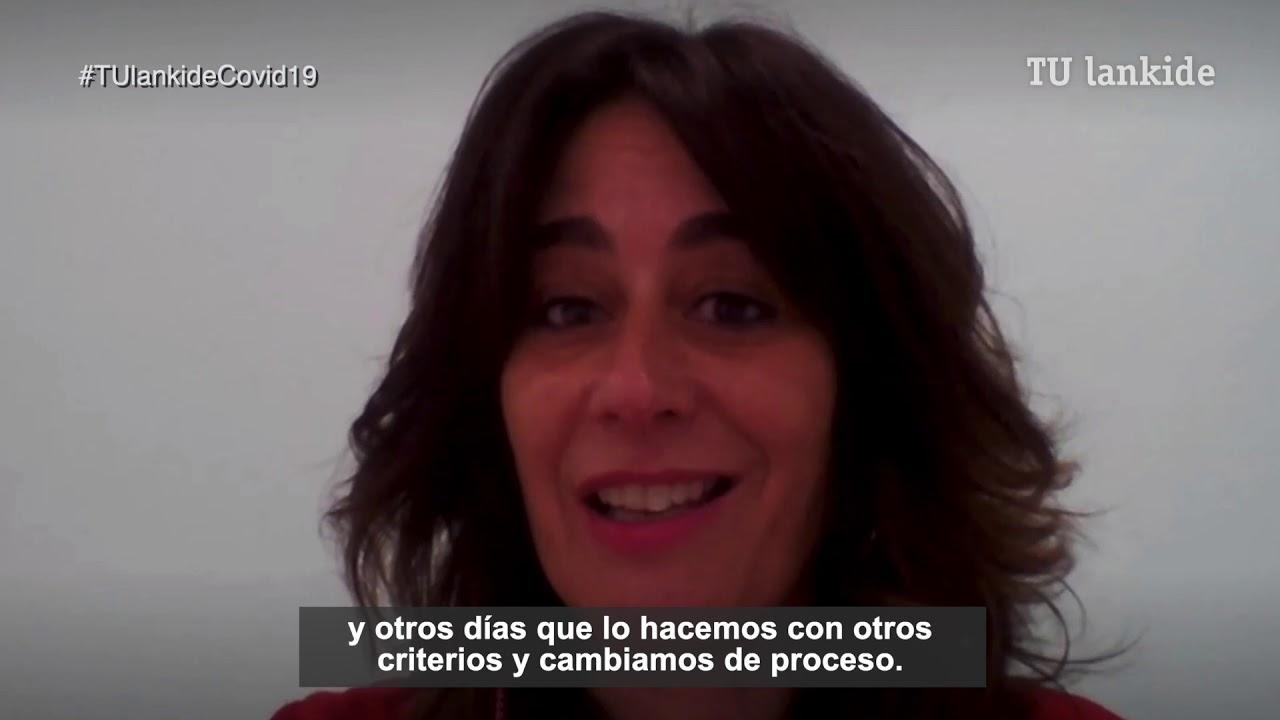 """Prepararemos la selectividad de manera específica con el segundo curso de bachillerato, el resto permanecerá en casa"" Mireia Muruamendiaraz, responsable de Innovación de Bachiller en Arizmendi Ikastola."