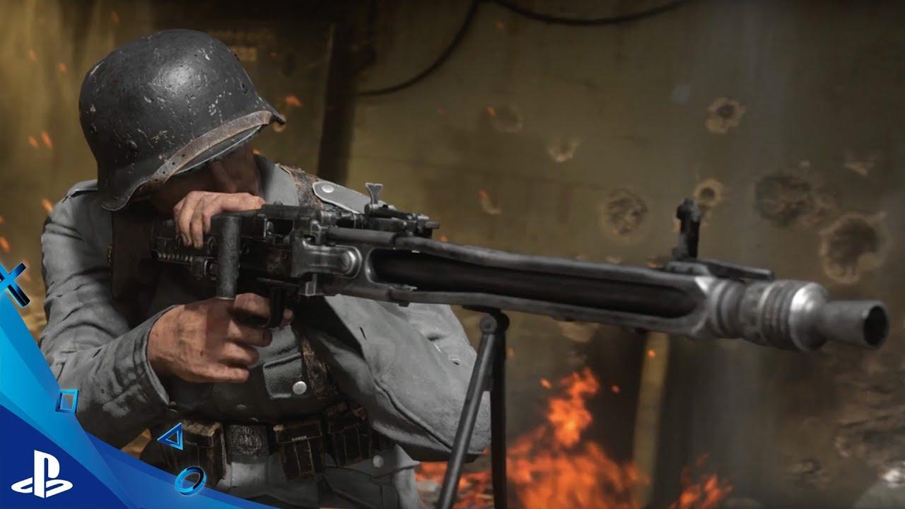E3 2017 | Un primer vistazo al multijugador de Call of Duty: WWII