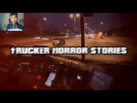 3 True Scary Trucker Horror Stories REACTION!!!! - смотреть