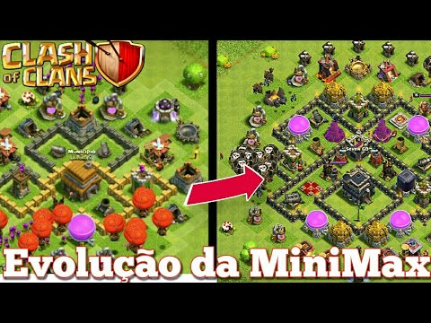 EVOLUINDO UMA MINIMAX #1- CLASH OF CLANS